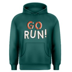 Go run - Men s Pullover Hoodie by Project01