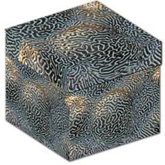 Coral Pattern Storage Stool 12   by Amaryn4rt