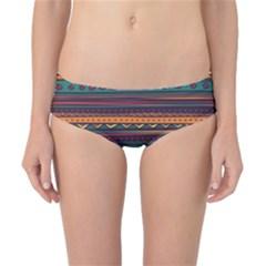 Ethnic Style Tribal Patterns Graphics Vector Classic Bikini Bottoms