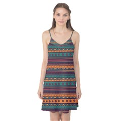 Ethnic Style Tribal Patterns Graphics Vector Camis Nightgown
