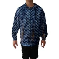 Parametric Wall Pattern Hooded Wind Breaker (kids) by Amaryn4rt
