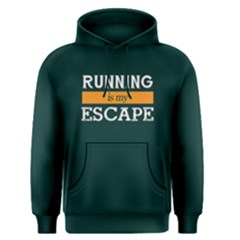 Running is my escape - Men s Pullover Hoodie by FunnySaying