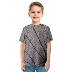 Sea Fan Coral Intricate Patterns Kids  Sport Mesh Tee