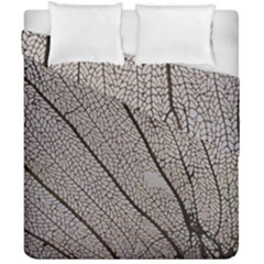 Sea Fan Coral Intricate Patterns Duvet Cover Double Side (california King Size) by Amaryn4rt