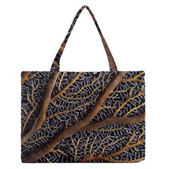 Trees Forests Pattern Medium Zipper Tote Bag by Amaryn4rt