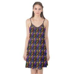Seamless Prismatic Line Art Pattern Camis Nightgown