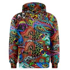 Vector Art Pattern Men s Zipper Hoodie by Amaryn4rt