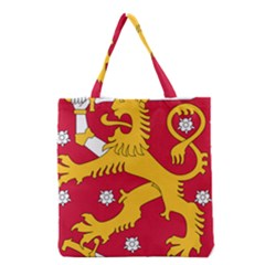 Coat Of Arms Of Finland Grocery Tote Bag