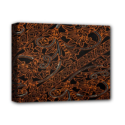 Art Traditional Indonesian Batik Pattern Deluxe Canvas 14  X 11  by Amaryn4rt