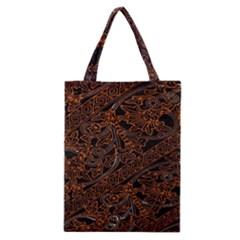 Art Traditional Indonesian Batik Pattern Classic Tote Bag