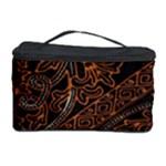 Art Traditional Indonesian Batik Pattern Cosmetic Storage Case