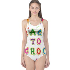 Back To School One Piece Swimsuit