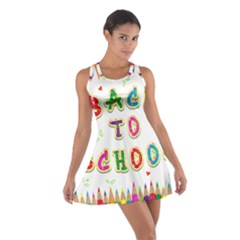 Back To School Cotton Racerback Dress by Amaryn4rt