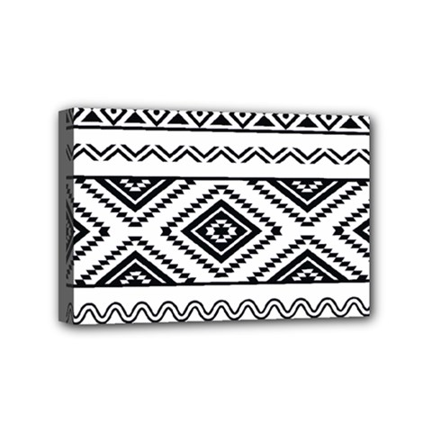 Aztec Pattern Mini Canvas 6  X 4  by Amaryn4rt