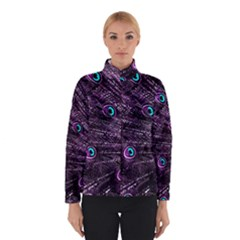 Bird Color Purple Passion Peacock Beautiful Winterwear by Amaryn4rt