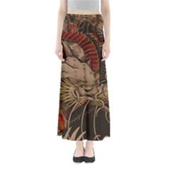 Chinese Dragon Maxi Skirts