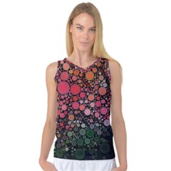 Circle Abstract Women s Basketball Tank Top by Amaryn4rt