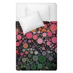 Circle Abstract Duvet Cover Double Side (single Size) by Amaryn4rt