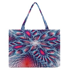 Creative Abstract Medium Zipper Tote Bag