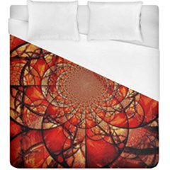Dreamcatcher Stained Glass Duvet Cover (king Size)