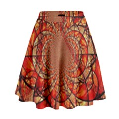 Dreamcatcher Stained Glass High Waist Skirt