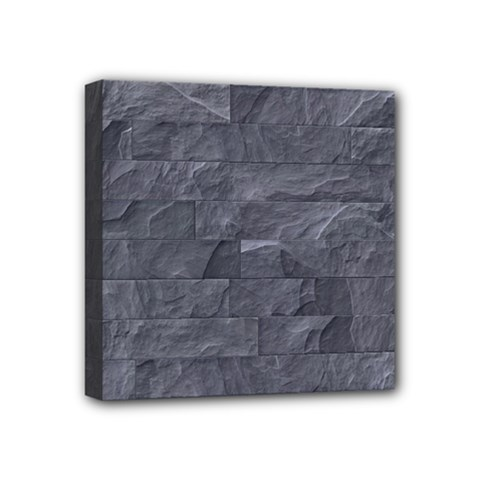 Excellent Seamless Slate Stone Floor Texture Mini Canvas 4  X 4  by Amaryn4rt