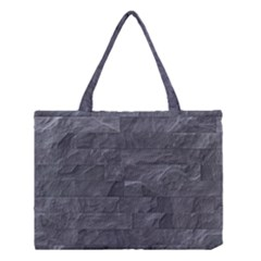 Excellent Seamless Slate Stone Floor Texture Medium Tote Bag by Amaryn4rt