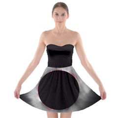 Solar Eclipse Strapless Bra Top Dress