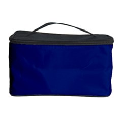 Bubbles Circle Blue Cosmetic Storage Case by Alisyart