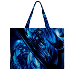 Blue Wave Medium Tote Bag