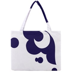 Month Blue Mini Tote Bag