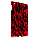 Scatter Shapes Large Circle Black Red Plaid Triangle Apple iPad 3/4 Hardshell Case (Compatible with Smart Cover) View2
