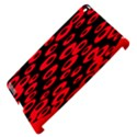Scatter Shapes Large Circle Black Red Plaid Triangle Apple iPad 3/4 Hardshell Case (Compatible with Smart Cover) View4