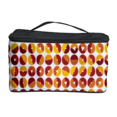 Weather Blue Orange Green Yellow Circle Triangle Cosmetic Storage Case by Alisyart