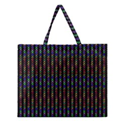 Dna Zipper Large Tote Bag by CannyMittsDesigns