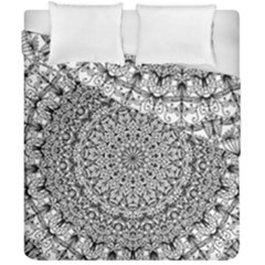 Mandala Boho Inspired Hippy Hippie Design Duvet Cover Double Side (california King Size) by CraftyLittleNodes