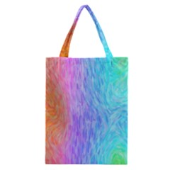 Abstract Color Pattern Textures Colouring Classic Tote Bag