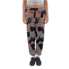 African Women Ethnic Pattern Women s Jogger Sweatpants by Simbadda