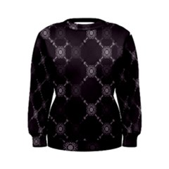 Abstract Seamless Pattern Women s Sweatshirt