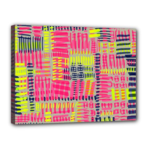 Abstract Pattern Canvas 16  X 12