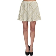 Background Pattern Skater Skirt