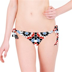Morrocan Fez Pattern Arabic Geometrical Bikini Bottom