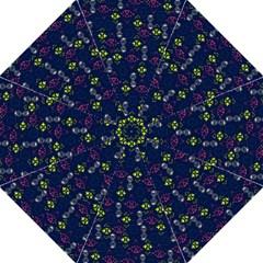 Vintage Unique Pattern Folding Umbrellas