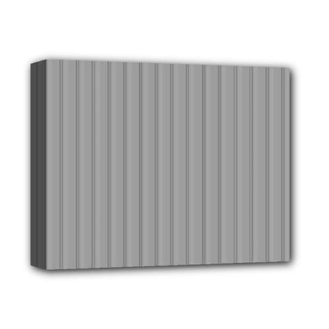 Metal Dark Grey Deluxe Canvas 14  X 11  by Alisyart