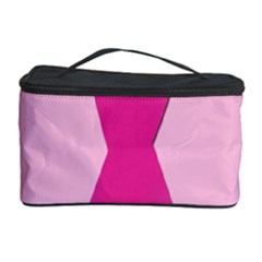 Pink Breast Cancer Symptoms Sign Cosmetic Storage Case by Alisyart