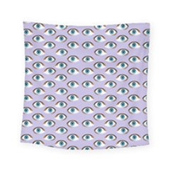 Purple Eyeballs Square Tapestry (small) by boho