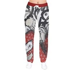 Velvet Drawstring Pants