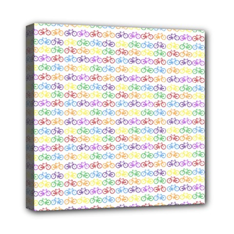 Bicycles Mini Canvas 8  X 8  by boho