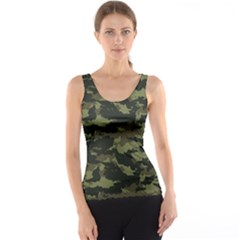 Camo Pattern Tank Top by Simbadda
