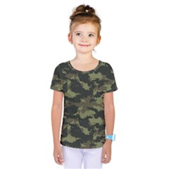 Camo Pattern Kids  One Piece Tee by Simbadda